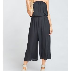 Show Me Your Mumu | Estelle Jumpsuit Black Crisp